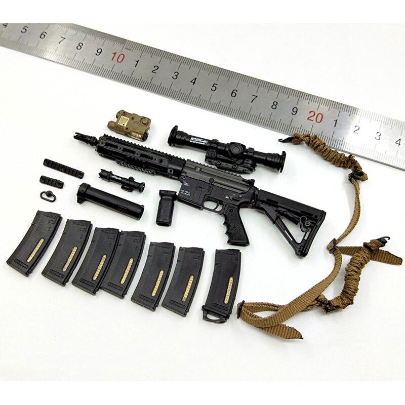 1/6 échelle US NAVY SEAL en cours unité d'embarquement MMS9003 HK416 modèles d'arme à feu Set accessoires pour 12 ''figurines corps bricolage