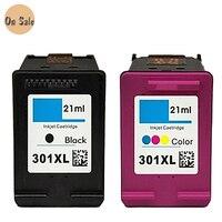 hisaint For HP301 Ink Cartridge For HP 301 XL for hp 301 ink cartridges Deskjet 1000 1050 1051 1055 2000 2050 3000 3050 printer
