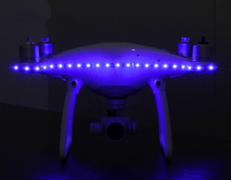 Decorative LED light Strip/Belt IC Switch Control Night Light with Depressurization Module Accessory for DJI Phantom 4 RC Drone