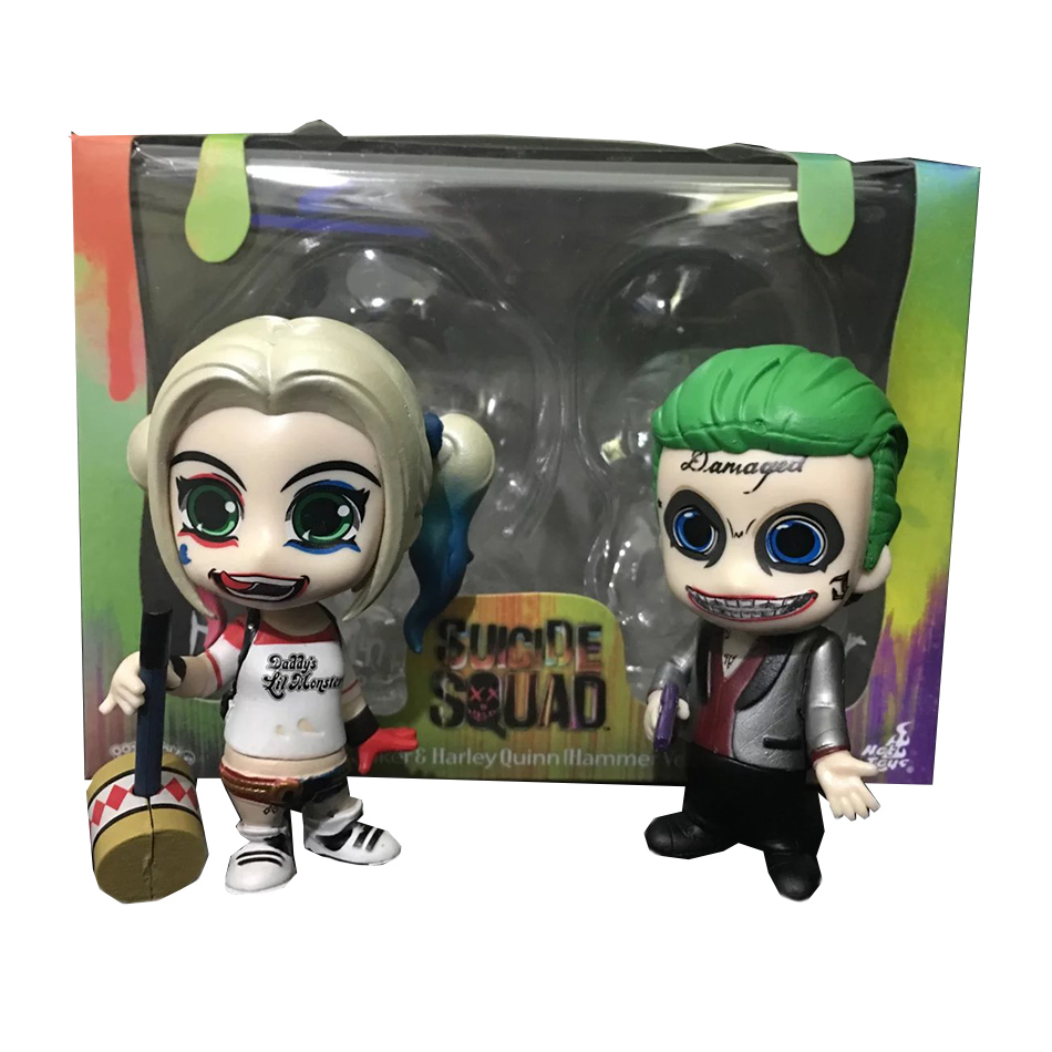 Suicide Squad Funko Pop Boomerang Batman Joker Harley Quinn Deadshot Rick Katana Collectible Vinyl Figure Model