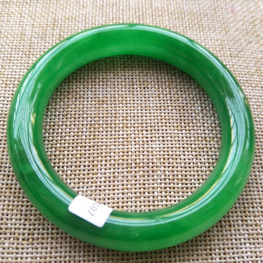 Bracelets & Bangles Punctual 54-62mm Inner Diameter Grade A High Quality Natural Nephrite Bangles Fine Yu Bracelet Jewelry For Women Gifts/ Bangles