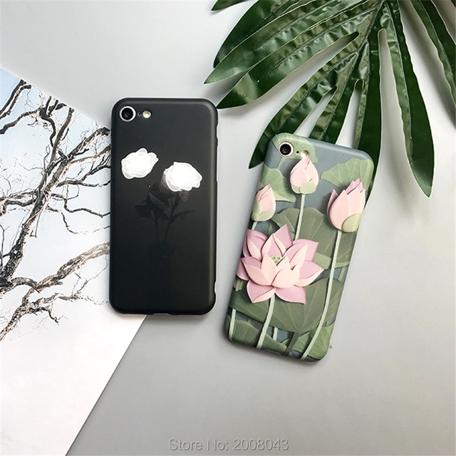 coque iphone 7 plus lotus