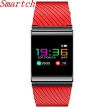 Smartch X9 Pro Smart Браслет Фитнес браслет красочные Экран Presión arterial сердечного ритма Мониторы Спорт Смарт часы PK mi Группа 2