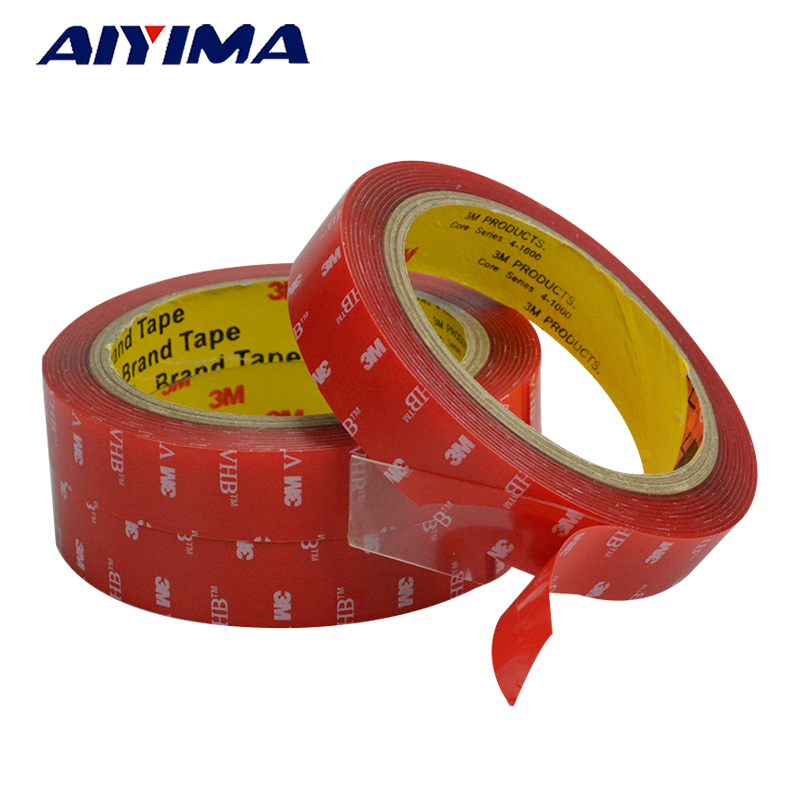 3m strong acrylic adhesive film 5-20mm 3M4910VHB double sided tape for glass High temperature resistant non-trace 3m acrylic tape vhb 4991adhesive double sided tape outstanding durability performance 0 5 in 18yd 5rolls we can offer other size