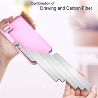 2018 Newest Showkoo Selfie Stick Phone Case For iPhone 7 6 6S Plus Stand Case For iPhone X Back Cover Built in Bluetooth Light