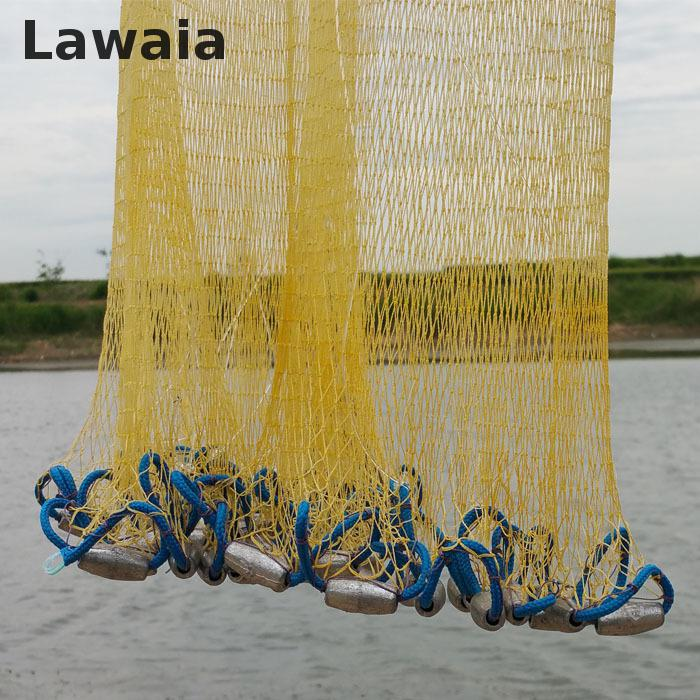 Lawaia 2.4-4.2m American Sign Cast Cast Net / Subnet In Net Net 3.6m - თევზაობა - ფოტო 3