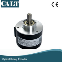 Frete grátis preço Barato eixo Sólido codificador rotativo incrementais-GHS58 série 10mm eixo codificador Óptico