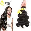 Queenlike Hair Products Malaysian Virgin Hair Body Wave 3Pcs Malaysian Body Wave Human Hair Extension Soft Virgin Malaysian Hair