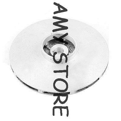 1.4 35mm Big OD Hole Diameter 10mm ID Aluminum Precision Pump Impeller Sand Casting Part 10-116-35