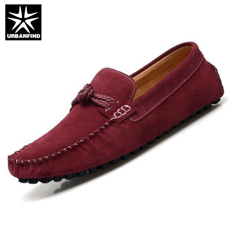 URBANFIND Best Price Men Casual Slip-on Loafers EU Size 38-44 Breathable Comfortable Man Massage Sole Shoes urbanfind men fashion leather loafers big size 38 48 comfortable soft man slip on driving shoes 5 colors fur no fur 2 styles