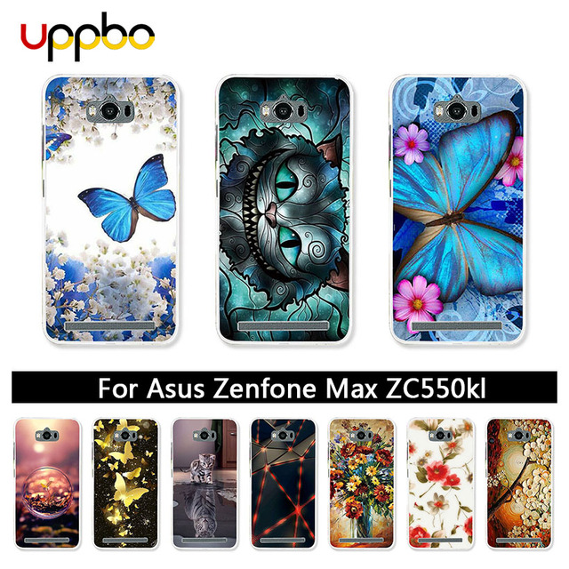 100% authentic d0f8d 2175f US $1.26 20% OFF|Uppbo Patterned Cases For ASUS Zenfone MAX Case Silicone  For ASUS Z010DD Z010D ZC550KL Z010DA Case Coque Bags Housing Back Cover-in  ...