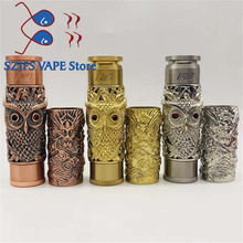 все цены на NEWEST AV kustohm MOD vs Dragon shape MOD Mechanical Mod 18650 Battery 24mm mech mod fit 510 thread Vaporizer Atomizers RDA Rate онлайн