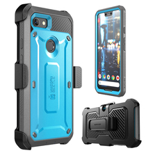 SUPCASE For Google Pixel 3 XL Case Cover UB Pro Full Body Rugged Holster Clip Protective Case with Built in Screen Protector