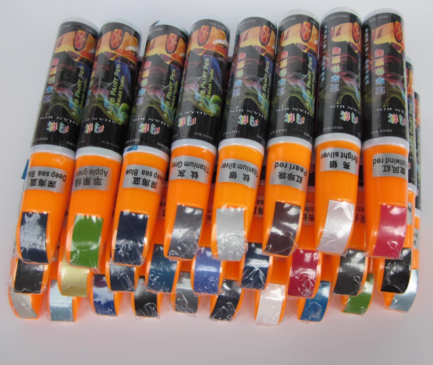 Blue series 1pcs pro mending car remover scratch repair paint pen clear 61 colors for