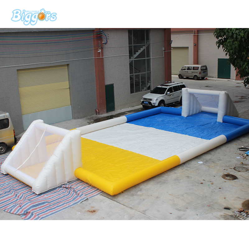 Durable Inflatable Air Soccer Game Football Field Soapy Stadium free shipping ce certificated inflatable football pitch inflatable soccer court soapy stadium for sale