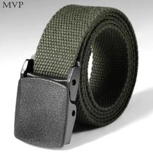 Men Belts Automatic Buckle Nylon Belt Male Army Tactical Belt Mens Military Adjustable Waist Canvas Belts Outdoor Sports Camping(China)