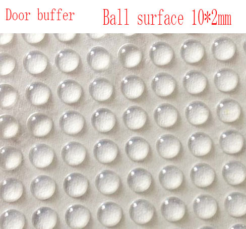 8*3 ball suface buffer,anti slip adhesive pads,glass door pads