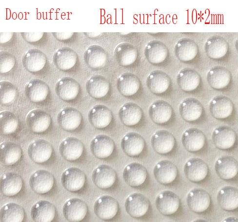 8*3 Ball suface buffer,anti slip adhesive pads,Glass door ...
