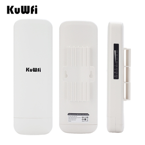 Image 1 - 3.5KM WIFI Repeater 900Mbps 5.8G Wireless CPE Router Outdoor Wireless Bridge Long Range WIFI Extender System for IP Camera