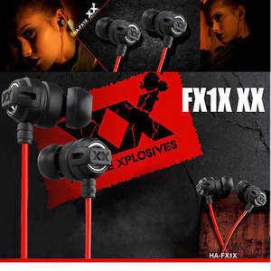 HA-FX1X 3.5mm Sport Earphones portable for iPhone MP3 PC