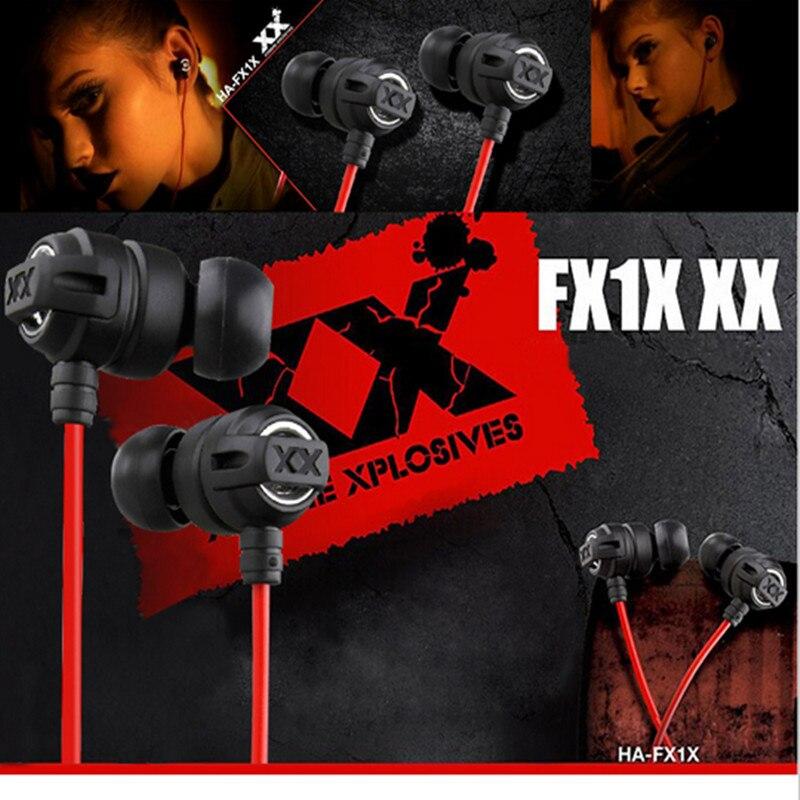 XEDAIN 3.5mm Headphones portable HA-FX1X Inear Earphones Clear sound Bass Headset Gaming Auriculares for xiaom iPhone MP3 MP4 PC