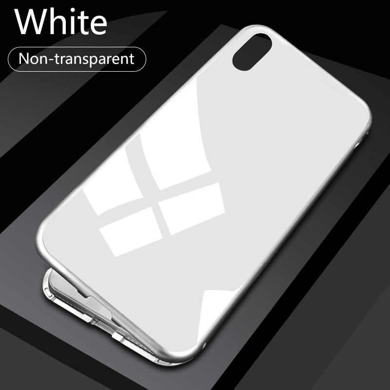 HTB1HtbYXnjxK1Rjy0Fnq6yBaFXag - GETIHU Metal Magnetic Case for iPhone XR XS MAX X 8 Plus 7 +Tempered Glass Back Magnet Cases Cover for iPhone 7 6 6S Plus Case
