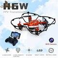 2016 Ново! мини Drone JJRC H6W Видео в Режиме Реального Времени FPV Quadcopte RC Toys дрон С 2-МЕГАПИКСЕЛЬНОЙ Hd Wi-Fi Камера Вертолет Vs MJX X600