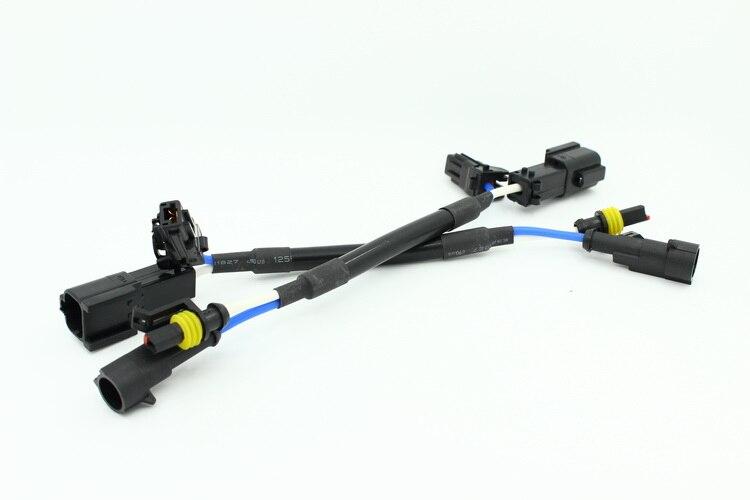 1 Pair CAR big KET connector Cable HID xenon ballast AMP AUTO HID LIGHT AMP - big KET Adaptors socket wire cable