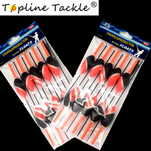 Topline Tackle 10PCS/Lot 2.5g Day Night Fishing Float With  Glow Light Stick For Free Gift Pesca Boia Flotteur Peche