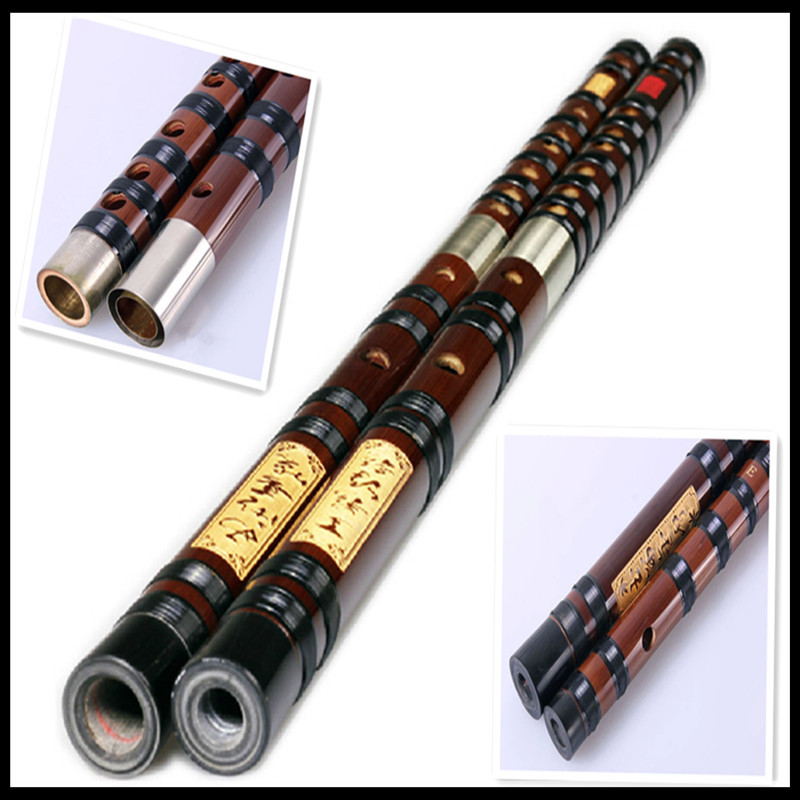 Professional Chinese Bamboo Flute Transverse Dizi Musicais Instrumentos Key of C\D\E\F\G\A\bE\Bass G\bB 7 hole Bass F Flauta