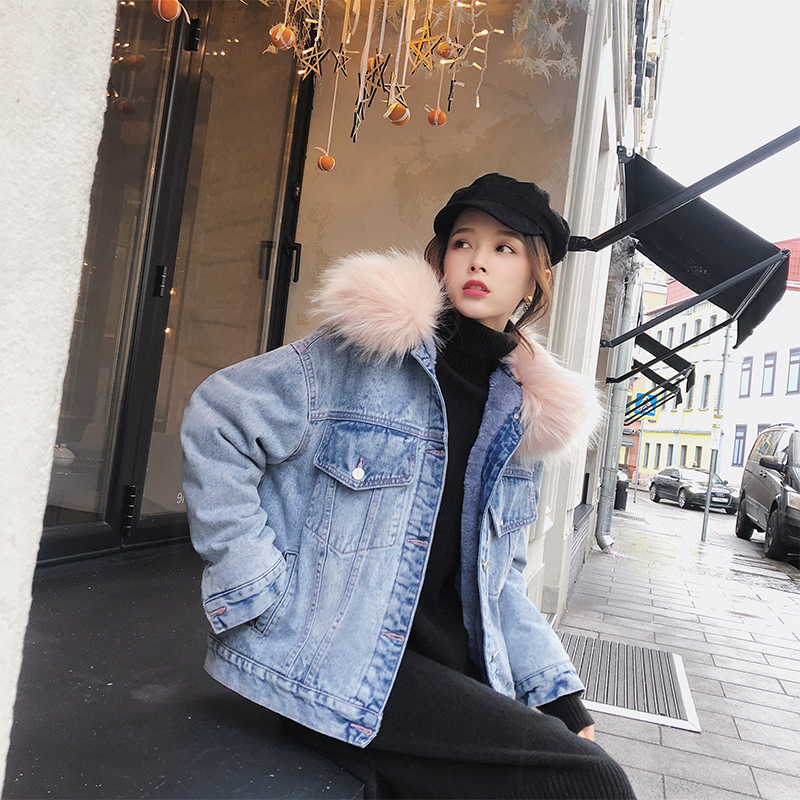 Mishow Parka Winter Jean Jacket Women Thick Outwear Cotton Coat warm 2019 New Autumn Loose Student