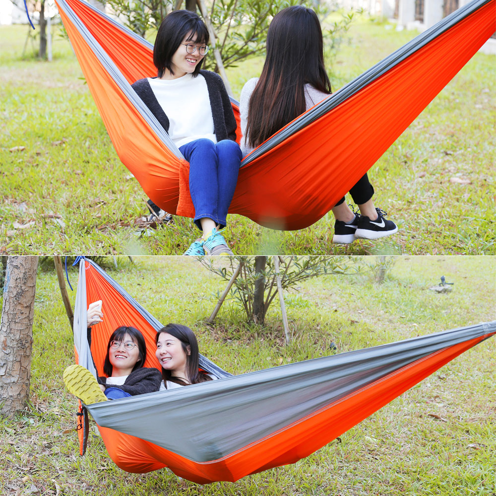 3 x 2M Outdoor 2 Person Assorted Color Portable Parachute Nylon Fabric Hammock парафин oneball x wax 5 pack assorted
