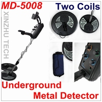 TIANXUN MD-5008 Metal Detector new professional underground gold detector MD-5008 treasure hunter with two coils