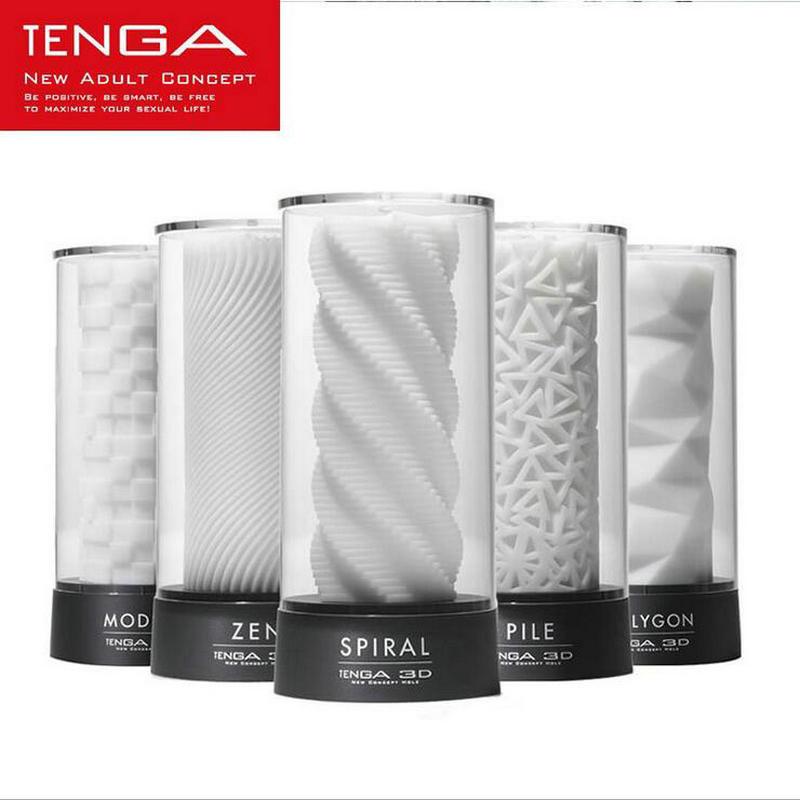 TENGA 3D Male Masturbator Adult Male Sex Tools Japan s Original Masturbation Cup Sex Toys for