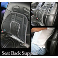 Confortable Van Car Seat Home Chair Massage Back Lumbar Support Mesh Ventilate Cushion Pad