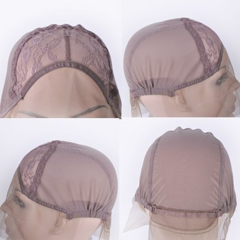Lace Front Wig Cap For Wig Making Weave Elastic Hair Net Mesh Straps AdjustableLace Cap Making Wigs Accessory & Tools 1