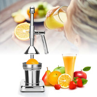 Stainless Steel manual hand press juicer squeezer citrus lemon orange pomegranate fruit juice extractor commercial or househo D1