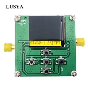 Image 1 - Lusya HMC833 25M 6GHZ RF signal source Phase locked loop Sweep source STM32 control Open source TFT T0101