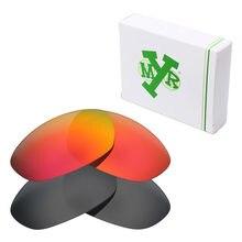 2 pares mryok polarizado Objetivos para Oakley twenty XX 2012 Gafas de sol  Stealth Black   Fire red b5774c4883