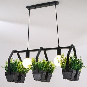 جميل الفردية لوحة قلادة أضواء خمر LED قلادة مصابيح المطبخ غرفة الطعام