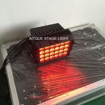 4 lot Luar liburan pencahayaan dinding mesin cuci led 24x8 w rgbw 4in1 ip65 luar led kota cahaya warna dinding mesin cuci lampu pesta