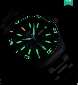 Image 2 - טריטיום שעון T100 Yelang גברים אוטומטי עמיד למים 300m יפן תנועה עליונה 24 תכשיטים לסובב חיוג תאריך יום לשחות צולל שעון