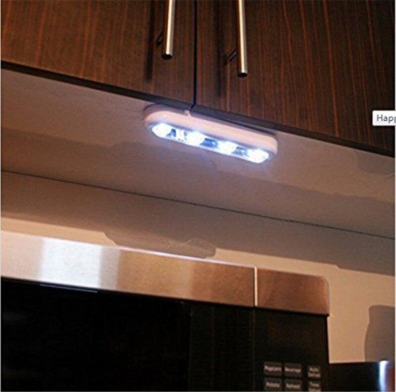 Batareya ilə işləyən LED Tuş Sensor Gecə İşıq lampası - Gecə işığı - Fotoqrafiya 6