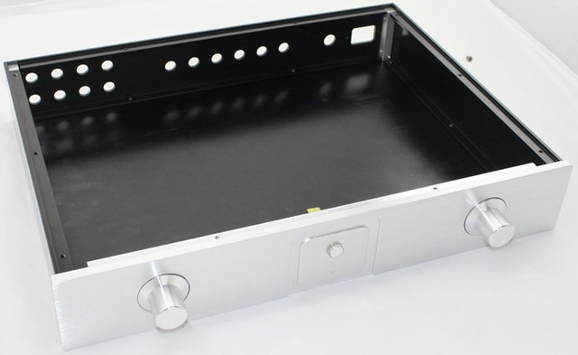 WA1 full aluminium enclosure, chassis amplifier case for aluminum amplifier enclosure, diy amplifier chassis