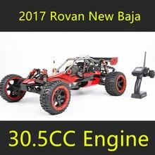 Новинка 2017 года; стильное платье Rovan Baja 5B 1/5 газа RC автомобиль 30.5c Двигатели для автомобиля с Walbro NGK симметричные рулевого управления лучше, чем HPI km Baja