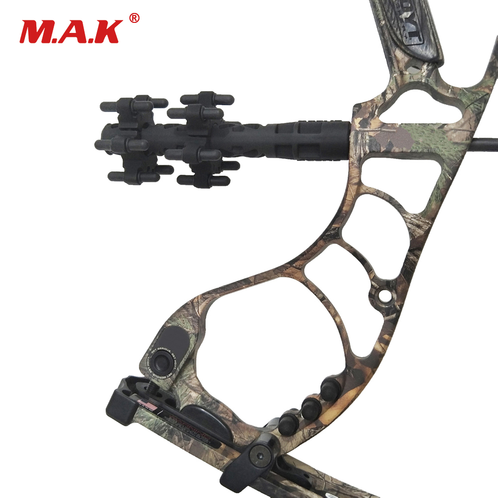 Compound Bow Stabilizer Rubber Balance Bar Bow Shock Absorber Compound Recurve Bow Rubber Stabilizer Arrows Accessories