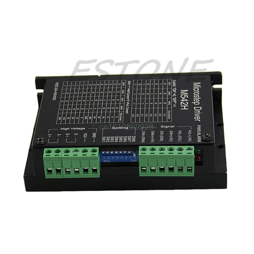 CNC Micro-Stepping Stepper Motor Driver M542/DM542 Bi-polar 2Phase 4.5A Switch M126 hot sale
