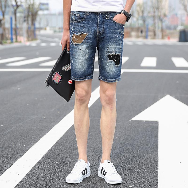Short Denim Shorts Mens