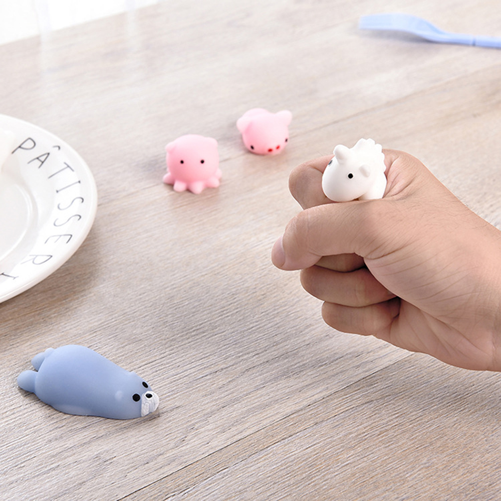 Kids Toy Package Gift Anti-Stress Slow-Mochi Squishies Cute Animal Cartoon New-Fashion img2