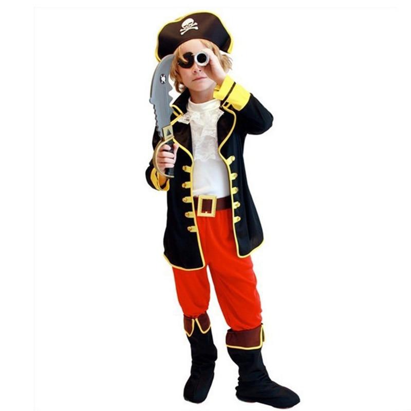 barn pojkar pirat kostymer / cosplay kostymer för pojkar / halloween - Maskeradkläder och utklädnad - Foto 3